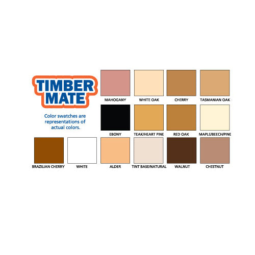 Timbermate Walnut Wood Filler 8 oz.