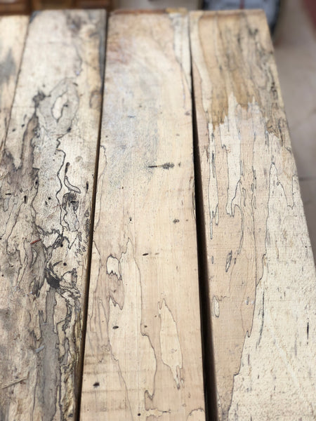 "Spalted Tamarind 3"" x 3"" x 18"" Turning Blank - Pack of 2"