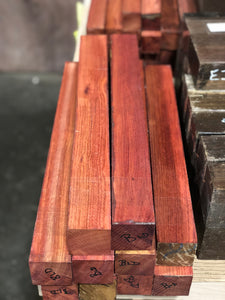 "Bloodwood 2"" x 2"" x 18"" Turning Blank"