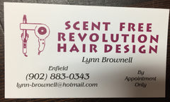 Scent Free Revolution Hair Design