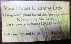 Leslie Guy House Cleaning