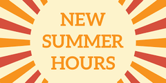 New Summer Hours at Branching Out