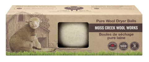 Moss Creek Pure Wool Dryer Balls