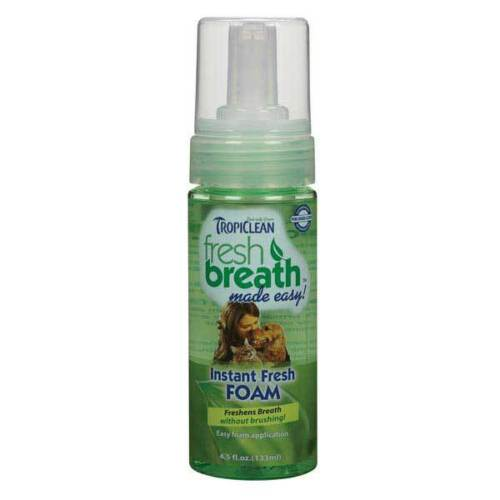 Dog Dental Foaming Oral Health Spray For Pets Fresh Breath and Clean Teeth 4.5 oz