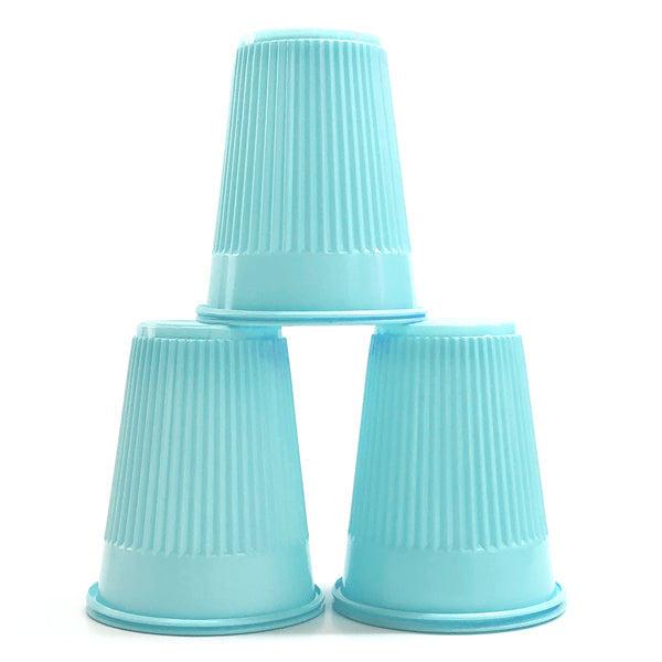 House Brand Blue Plastic Cups 5 oz 1000/case for dental/medical office