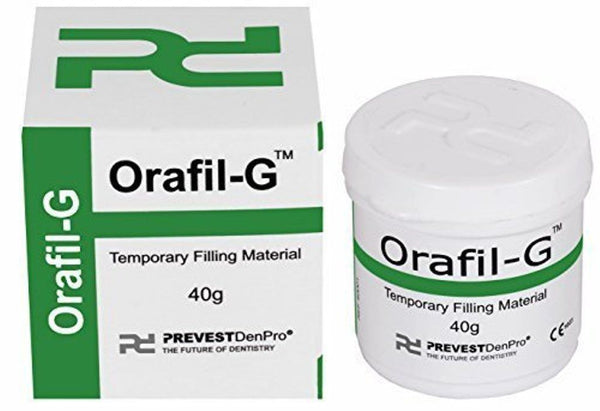Prevest DenPro Orafil G Dental Temporary Teeth Filling Material, 40gm
