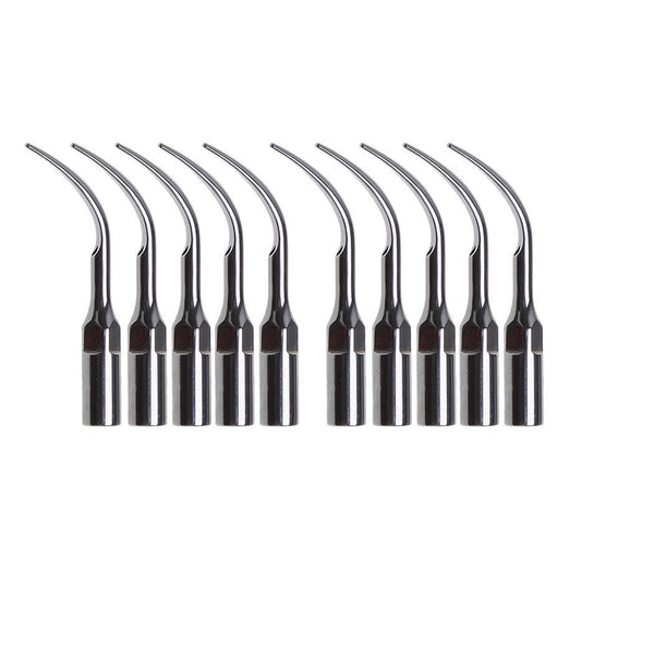 Dental Ultrasonic Piezo Scaler Tips G2 fit EMS Woodpecker NSK Brand - 10 pcs