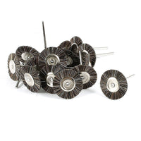Brown 15pcs Nylon Cup Brush Dia Polishing Wheels for Dremel Rotary Tool