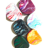 Marbled-Style Orthodontic Retainer Case Mouthguard Box Practicon Assorted