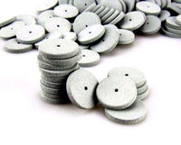 Gray Silicone Rubber Polishing Wheels for Dental Jewelry Rotary Tool
