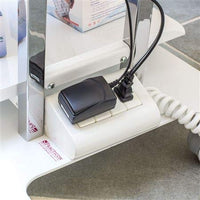 Mobile Dental TeknoCart with Tray Mobile Storage and Built-in Power Cart