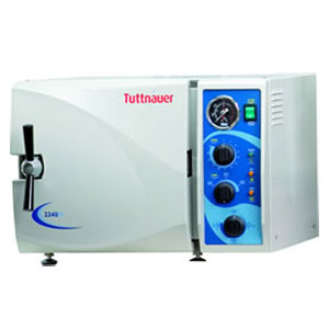 Tuttnauer 2340M Manual Autoclave Steam, 110v Model, Volume 5