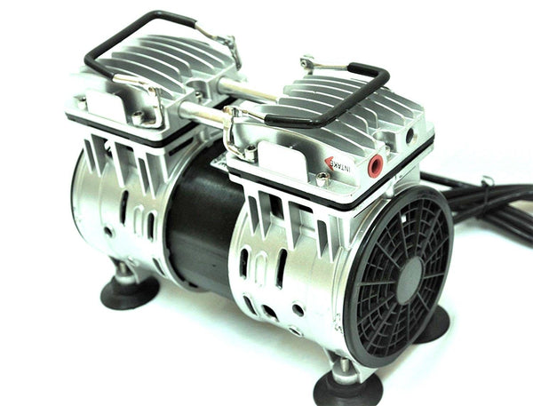 Dental Twin Piston Oilless, Oilfree, Vacuum Pump