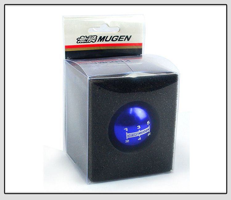 MUGEN Chrome Gear Shift Knob 5 five Speed JDM, , Immortal Customs, Immortal Customs - Immortal Customs