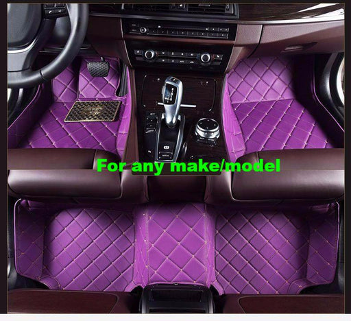 BMW 5 Series Custom Luxury Styling Floor Mats, , Immortal Customs, Immortal Customs - Immortal Customs