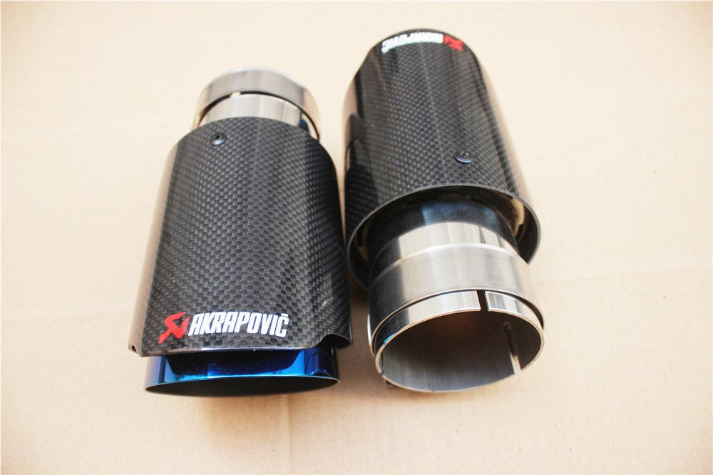 Akrapovic Glossy Carbon Fiber Exhaust Tip
