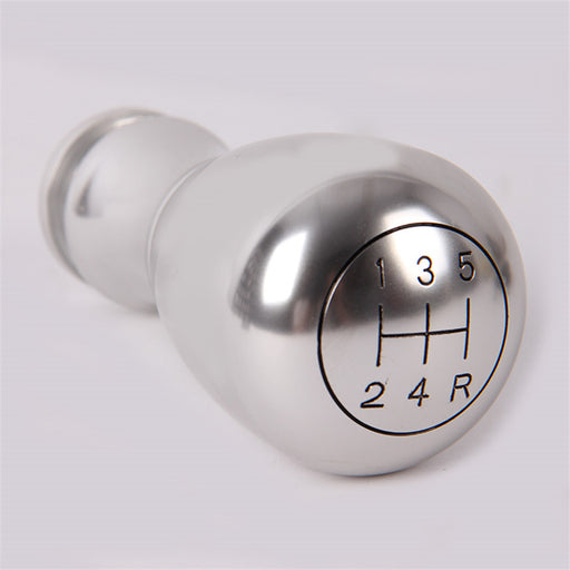 Aluminium Silver Gear Shift Knob 5 Speed