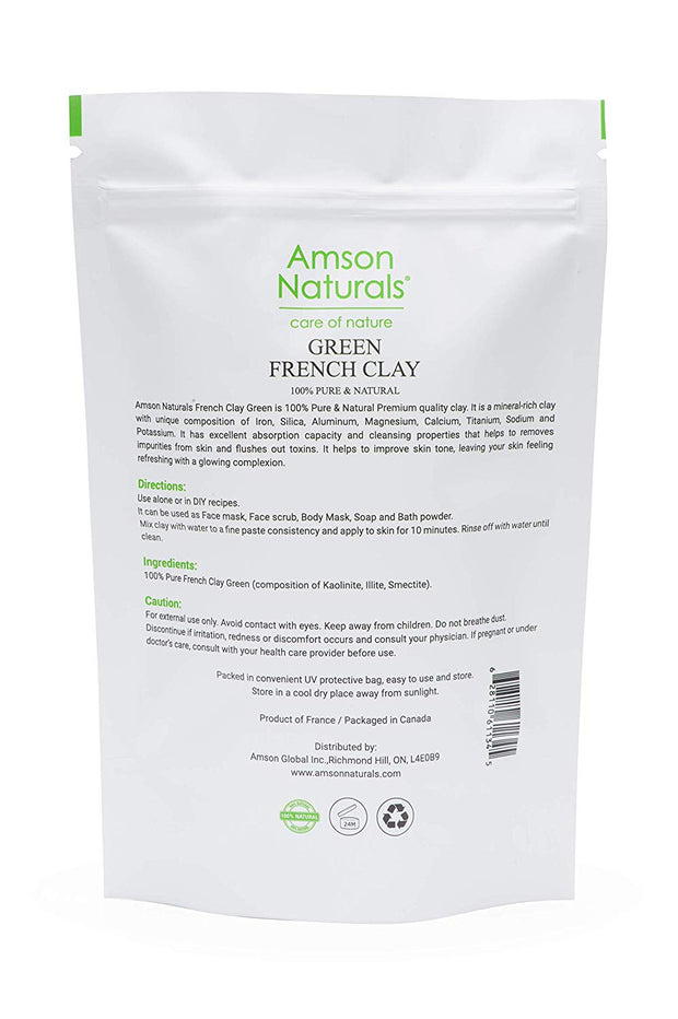 French Clay Green - Amson Naturals