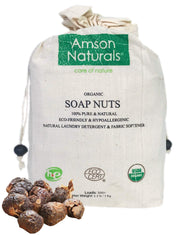 Soap Nuts USDA Organic (2.2 lb / 1 Kg / 300 plus Loads) - Amson Naturals