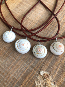 Shell Essential Oil Necklace