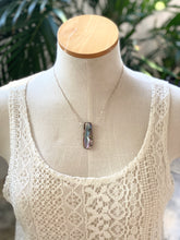 Abalone on Sterling Silver Chain