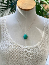 Turquoise on Sterling Silver