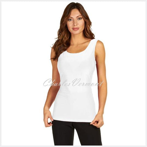 FRANK LYMAN LONG-LINE CAMISOLE – STYLE 010 (OFF-WHITE)