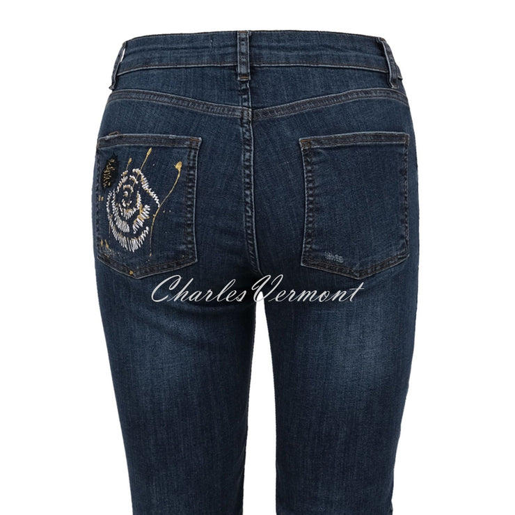 Dolcezza Hand Painted Jeans - Style 70401