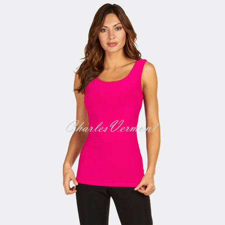 Frank Lyman Long-Line Camisole – Style 010 (Neon Pink)