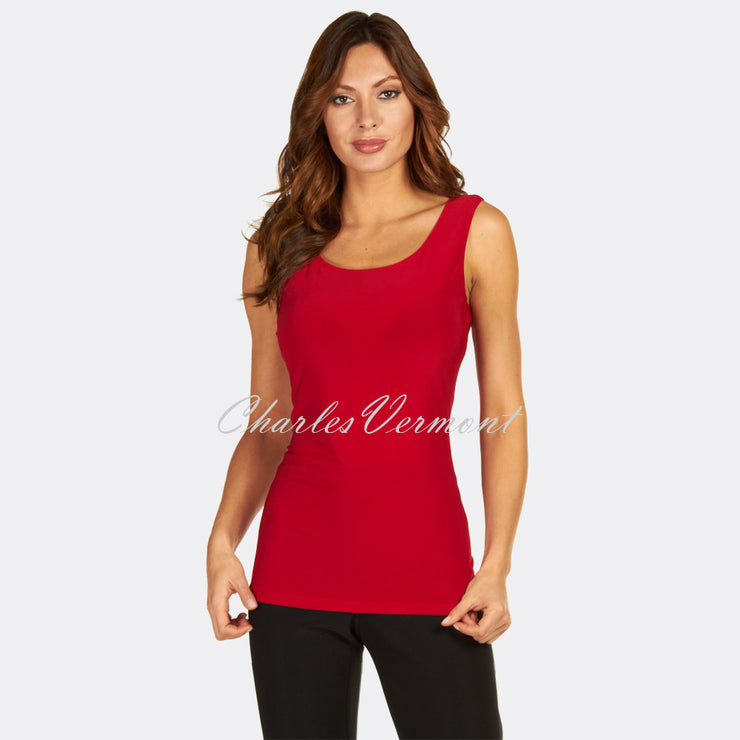 Frank Lyman Long-line Camisole - style 010 (Red)