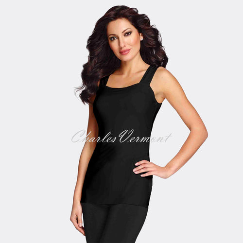 Frank Lyman Long-line Camisole - style 030 (Black)