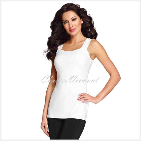 Frank Lyman Long-line Camisole - style 030 (White)