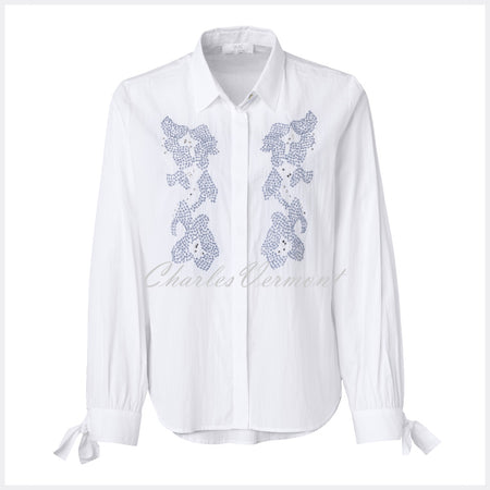 Just White Blouse - style 49533
