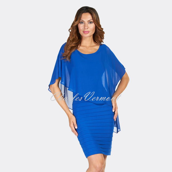 Frank Lyman Dress – Style 51027 (Royal Blue)