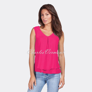Frank Lyman Top – Style 61175 (Candy Pink)
