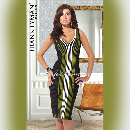 Frank Lyman Dress - style 95114U (Citrus Green)