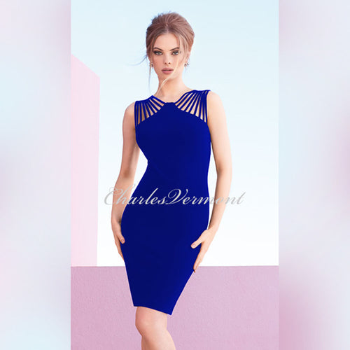 Joseph Ribkoff Dress - style 173028 (Royal Sapphire Blue)