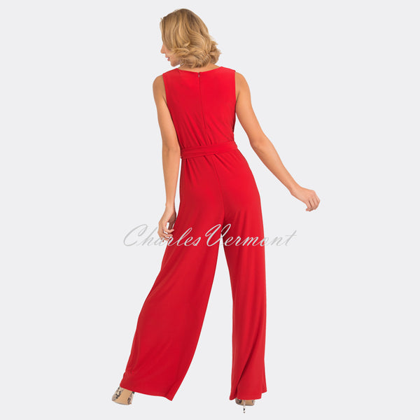 Joseph Ribkoff Jumpsuit – Style 193050 (Red)
