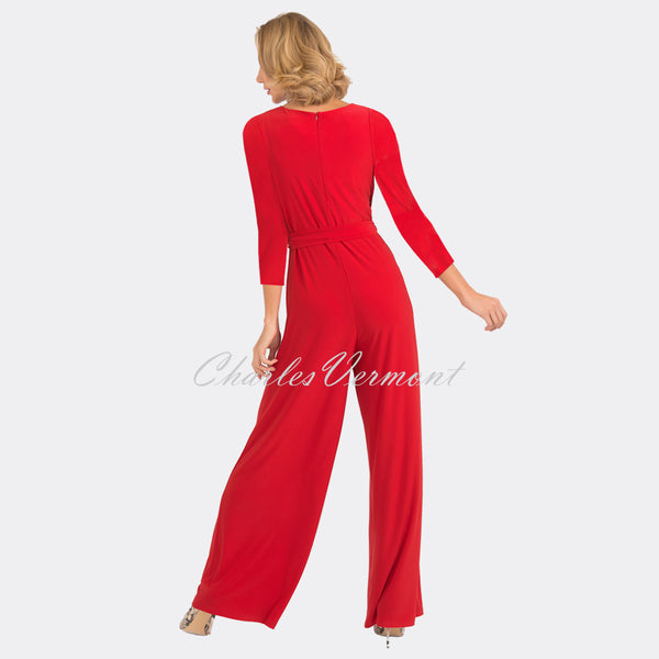 Joseph Ribkoff Jumpsuit – Style 193050X (Red)