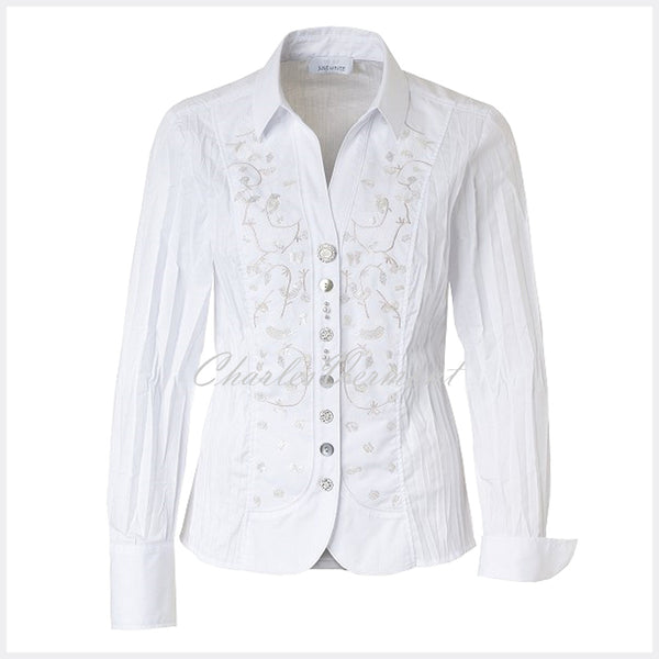 Just White Blouse – Style 41000