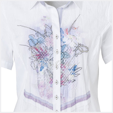 Just White Blouse – Style 41314
