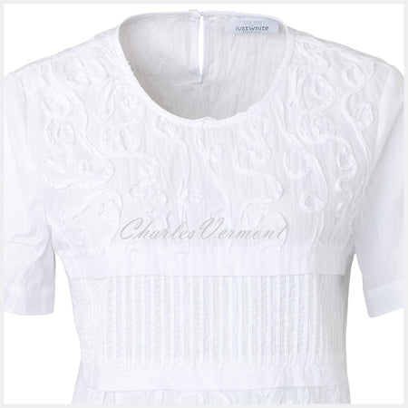Just White Blouse – Style 41385