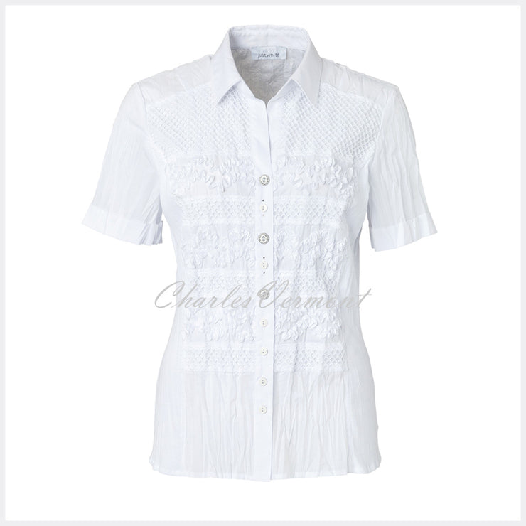 Just White Blouse – Style 41392