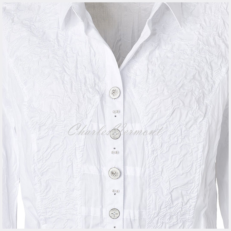 Just White Blouse – Style 41399