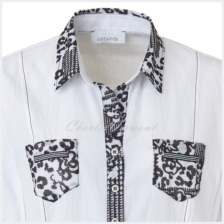 Just White Blouse – Style 41634