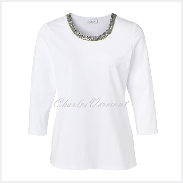 Just White Top – Style 41736
