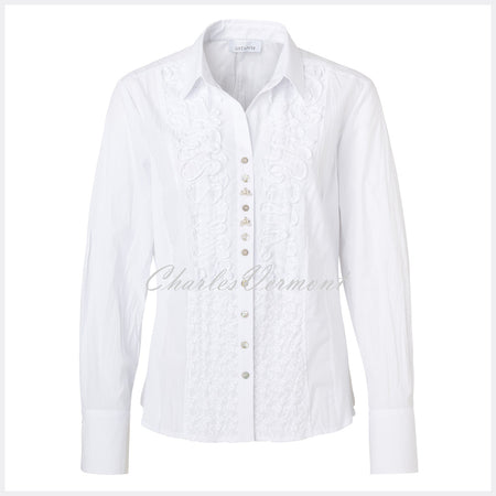 Just White Blouse – Style 41740
