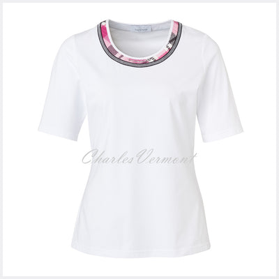 Just White Top – Style 41769