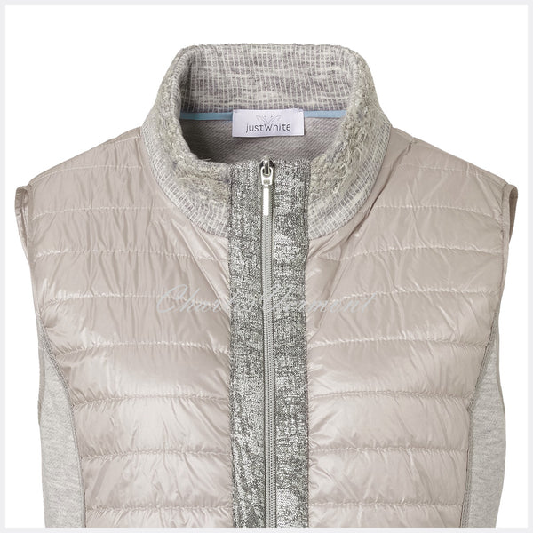 Just White Gilet – Style 41779