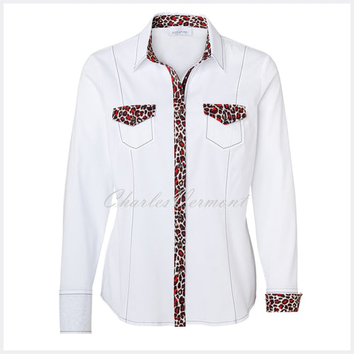 Just White Blouse – Style 41847